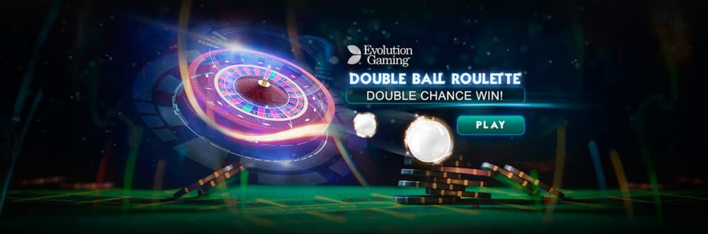 Double Ball Roulette - Two Ball Roulette from Evolution